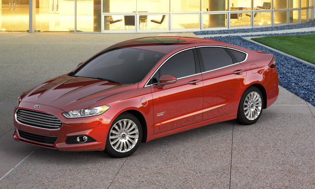 2016 Ford Fusion Energi, Front-quarter view., exterior, manufacturer, gallery_worthy