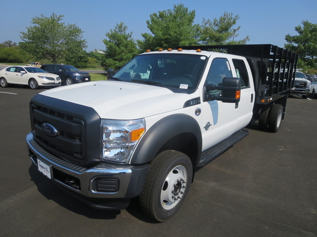 2016 Ford F-450 Super Duty, Front-quarter view., exterior, manufacturer