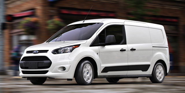 2016 Ford Transit Connect, Front-quarter view., exterior, manufacturer, gallery_worthy