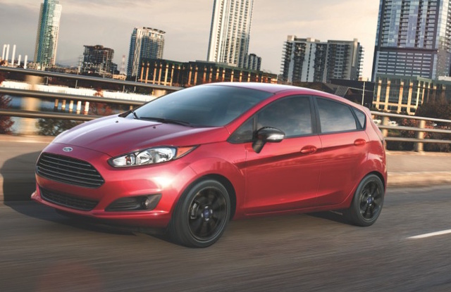 2016 Ford Fiesta, Front-quarter view., exterior, manufacturer, gallery_worthy