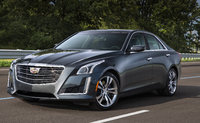 2016 Cadillac CTS, Front-quarter view. Copyright General Motors., exterior, manufacturer