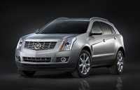 2016 Cadillac SRX, Front-quarter view. Copyright General Motors., exterior, manufacturer