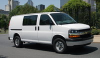 2016 Chevrolet Express Cargo, Front-quarter view. Copyright General Motors., exterior, manufacturer