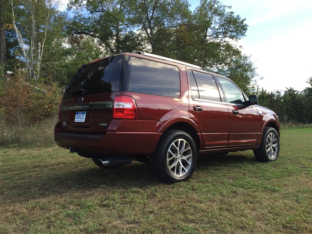2015 Ford Expedition, Rear quarter view, exterior, gallery_worthy