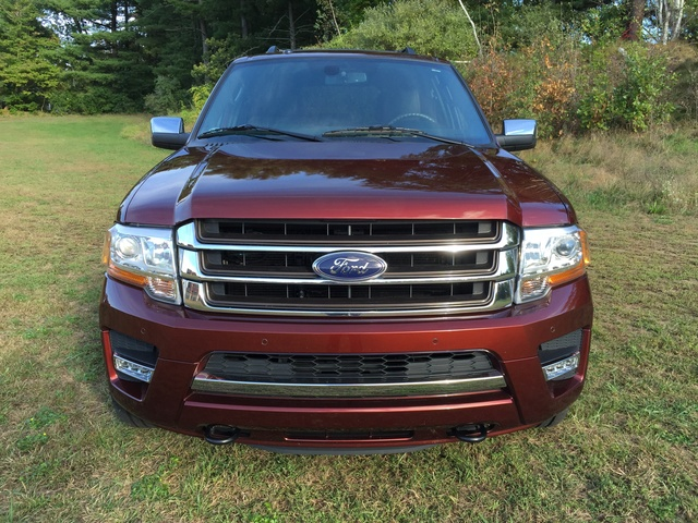 2015 Ford Expedition, Front grille, exterior, gallery_worthy