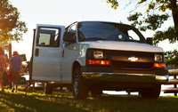2016 Chevrolet Express, Front-quarter view. Copyright General Motors., exterior, manufacturer, gallery_worthy