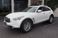 2016 INFINITI QX70, Front-quarter view., exterior, manufacturer, gallery_worthy