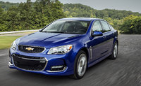 2016 Chevrolet SS, Front-quarter view. Copyright General Motors., exterior, manufacturer