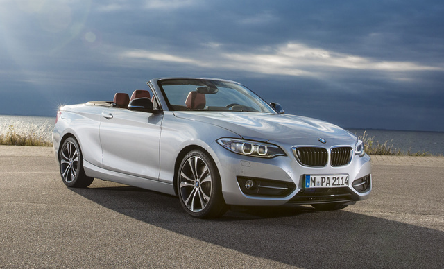 2016 BMW 2 Series, Front-quarter view., exterior, manufacturer, gallery_worthy