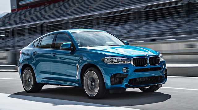 2016 BMW X6 M, Front-quarter view., exterior, manufacturer, gallery_worthy