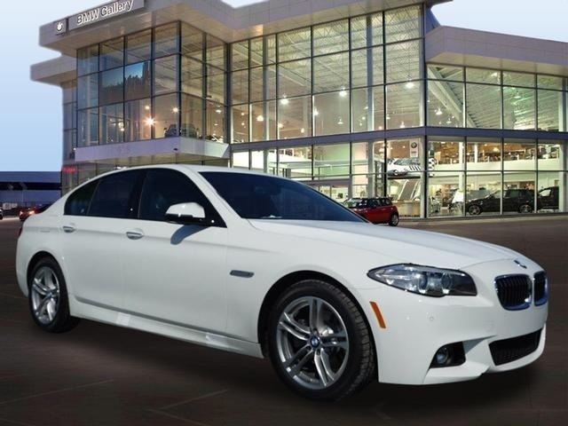 2016 BMW 5 Series, Front-quarter view., exterior, gallery_worthy