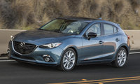 2016 Mazda MAZDA3, Front-quarter view., exterior, manufacturer, gallery_worthy