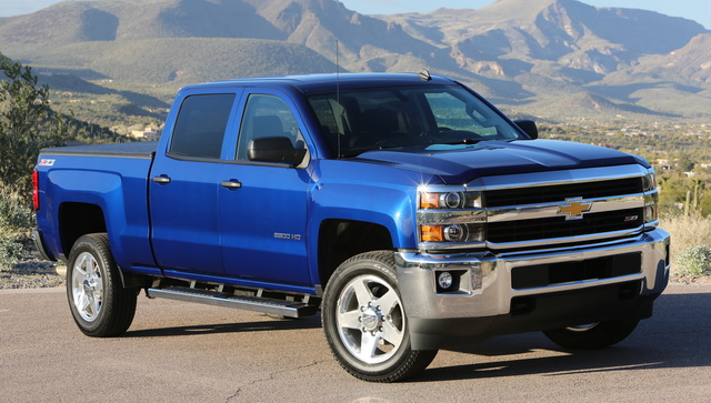 2016 Chevrolet Silverado 2500HD, Front-quarter view. Copyright General Motors., exterior, manufacturer
