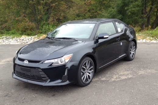 2016 Scion tC, Front-quarter view., exterior