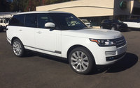 2016 Land Rover Range Rover, Front-quarter view., exterior