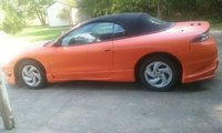 Picture of 1996 Mitsubishi Eclipse Spyder 2 Dr GS-T Turbo Convertible, exterior, gallery_worthy