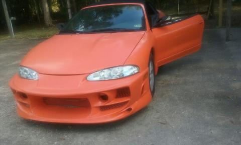 Picture of 1996 Mitsubishi Eclipse Spyder 2 Dr GS-T Turbo Convertible
