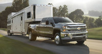 2016 Chevrolet Silverado 3500HD, Front-quarter view. Copyright General Motors., exterior, manufacturer