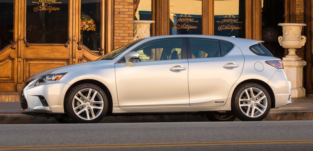 2016 Lexus CT 200h, Side view., exterior, manufacturer