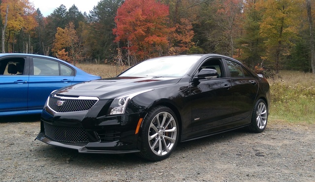 2016 Cadillac ATS-V from IMPA's Test Days