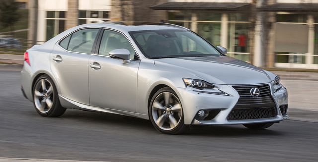 2016 Lexus IS 350, Front-quarter view., exterior, manufacturer, gallery_worthy