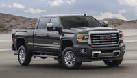 2016 GMC Sierra 3500HD, Front-quarter view. Copyright General Motors., exterior, manufacturer, gallery_worthy