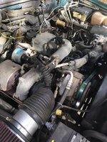 Picture of 1995 GMC Sierra 2500 2 Dr C2500 SLE Standard Cab LB, engine