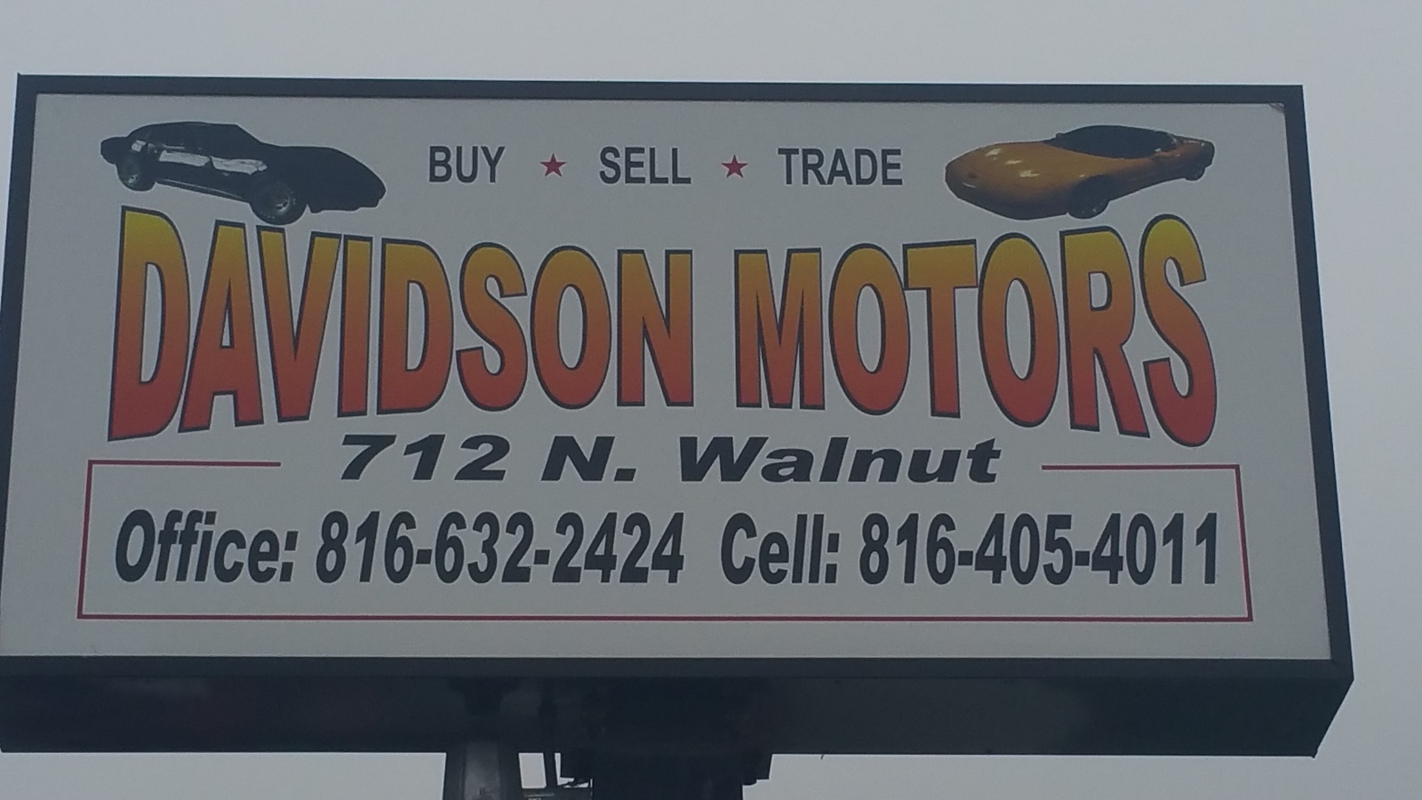 Used Car Sales Cameron Mo