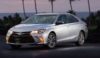 2016 Toyota Camry, Front-quarter view., exterior, manufacturer