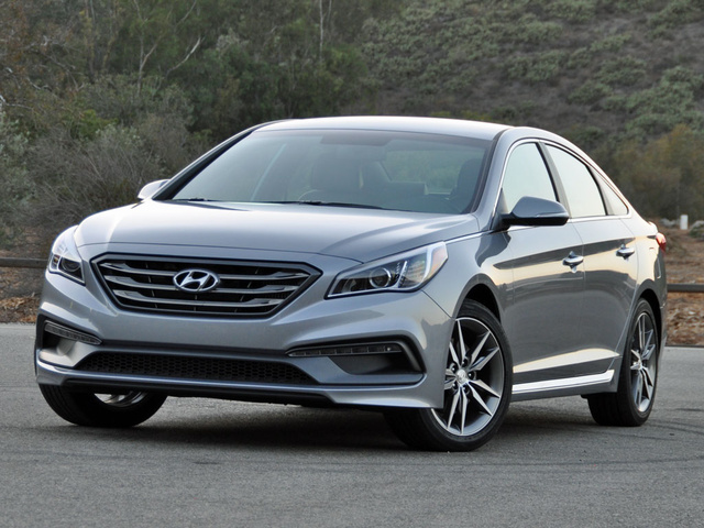 Marvelous 2016 Hyundai Sonata Sport 2.0T In Shale Gray