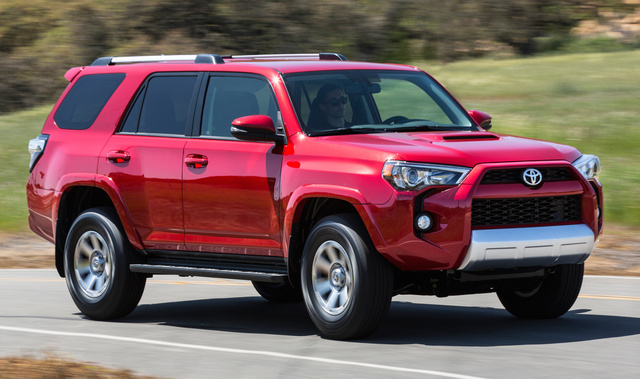 2016 Toyota 4Runner, Front-quarter view., exterior, manufacturer, gallery_worthy