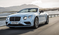 2016 Bentley Continental GT Convertible, Front-quarter view., exterior, manufacturer