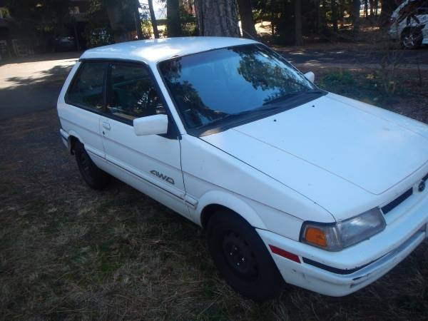 Picture of 1988 Subaru Justy