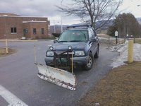 2000 Chevrolet Tracker Base 4WD, My Chevy Tracker with Snow Plow I built for it, 99 - 04 didn't offer a plow new or aftermarket, exterior
