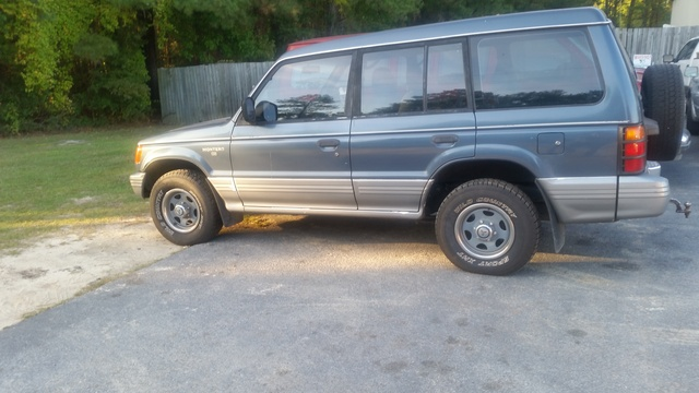 Picture of 1992 Mitsubishi Montero RS 4WD, exterior, gallery_worthy