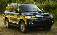 2016 Toyota Land Cruiser, Front-quarter view., exterior, manufacturer, gallery_worthy