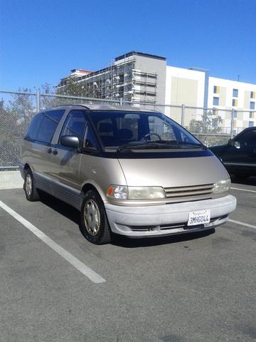 Picture of 1995 Toyota Previa 3 Dr LE Supercharged Passenger Van, exterior
