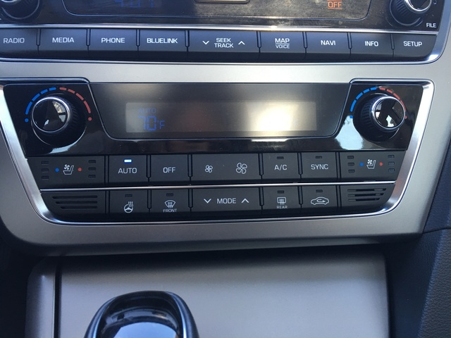 Picture of 2015 Hyundai Sonata 2.0T Ultimate FWD, interior, gallery_worthy