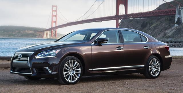 2016 Lexus LS 600h L, Front-quarter view., exterior, manufacturer, gallery_worthy