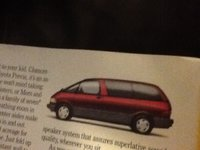 Picture of 1993 Toyota Previa 3 Dr LE Passenger Van, gallery_worthy
