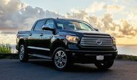 2016 Toyota Tundra, Front-quarter view., exterior, manufacturer, gallery_worthy