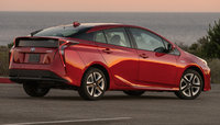 2016 Toyota Prius, Rear-quarter view, exterior, manufacturer, gallery_worthy