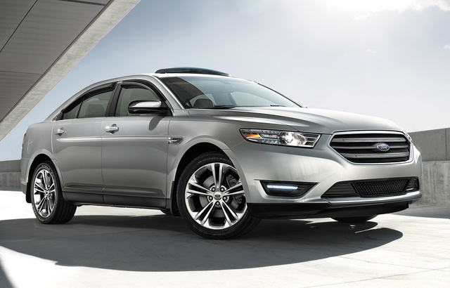 2016 Ford Taurus, Front-quarter view, exterior, manufacturer, gallery_worthy