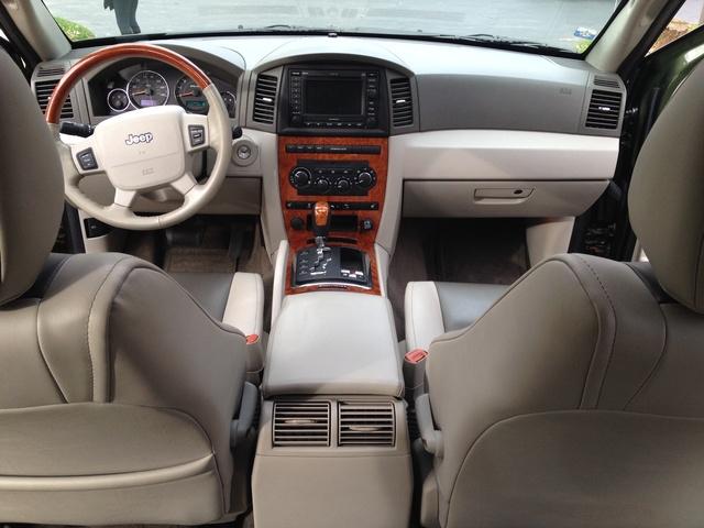 cherokee grand jeep 2006 overland interior cargurus cars
