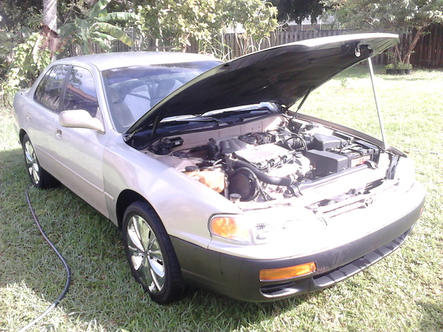 Picture of 1996 Toyota Camry LE V6, exterior, engine, gallery_worthy