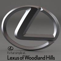 Lexus of Woodland Hills logo