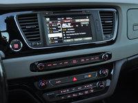2016 Kia Sedona SX-L, 2016 Kia Sedona SXL UVO eServices radio display, interior