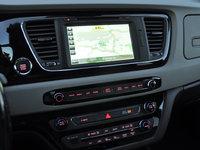 2016 Kia Sedona SX-L, 2016 Kia Sedona SXL UVO eServices navigation map display, interior