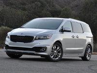 2016 Kia Sedona SX-L, 2016 Kia Sedona SXL in Bright Silver, exterior