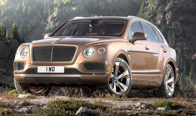 2017 Bentley Bentayga, Front-quarter view., exterior, manufacturer